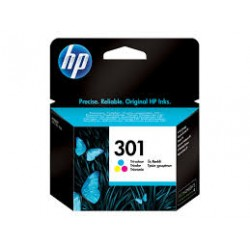 CARTUCHO ORIGINAL HP 301XL TRICOLOR