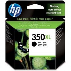 CARTUCHO ORIGINAL HP 350 XL NEGRO