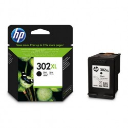 CARTUCHO ORIGINAL HP 302XL NEGRO