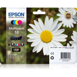 Epson - Pack 4 Colores  T18