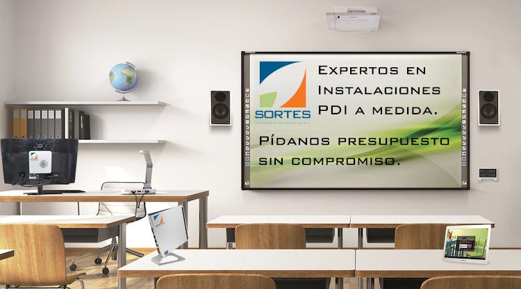 Instalacion y mantenimiento de pizarras digitrales
